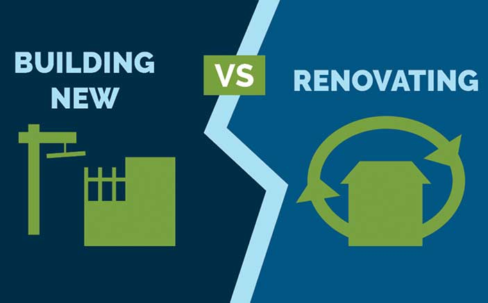 Building from scratch or rehabilitating a home to make it more sustainable: which option is better?